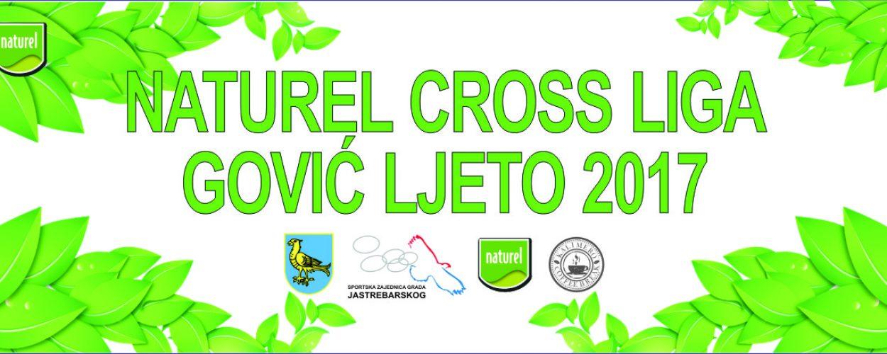 banner Naturel Cross liga GOVIĆ – ljeto 2017